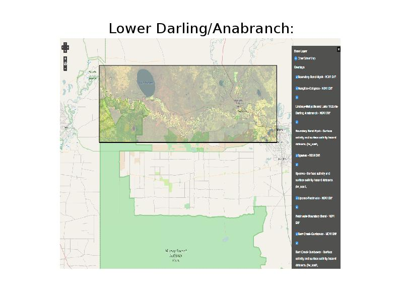 Lower Darling/Anabranch: