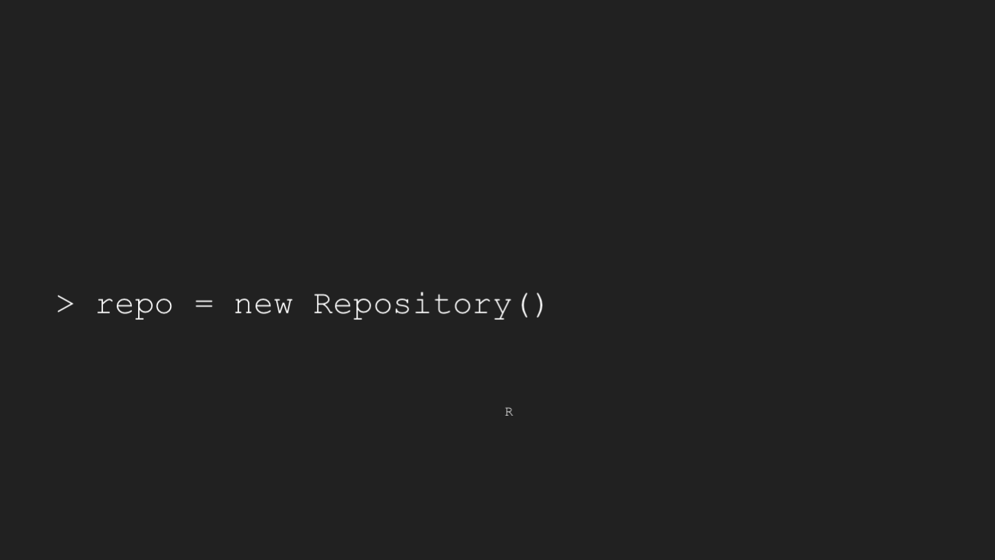 "> repo = new Repository() <p>"" title='> repo = new Repository()</p> <p>' border='1'  width='85%'/></p> <p>Hello and welcome to this presentation about OCFL at UTS. Don't be alarmed - yes there's javascript code on the screen, but there will not be a test!</p> </section> <br/><br/><hr/> <section typeof='http://purl.org/ontology/bibo/Slide'> <img src='http://ptsefton.com/2019/07/01/OCLF/Slide04.png' alt='> repo = new Repository() <p>Repository { ocflVersion: '1.0', objectIdToPath: [Function] }</p> <p>R</p> <p>' title='> repo = new Repository()</p> <p>Repository { ocflVersion: '1.0', objectIdToPath: [Function] }</p> <p>R</p> <p>' border='1'  width='85%'/></p> <p>To me, being able to type <code>npm install ocfl</code> then  instantiate a repository in an interactive shell is quite amazing - when I first worked with repositories, from about 2006, installing a repository was a big job, there were usually lots of prerequisites and installation (for example see this guide to installing UQ's <a href="