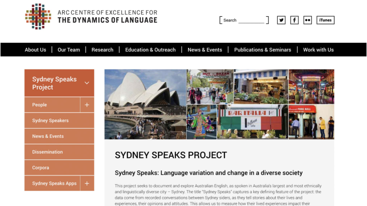 Case Study - Sydney Speaks <p>